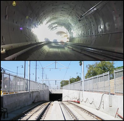GOLD LINE EASTSIDE EXTENSION & TUNNEL